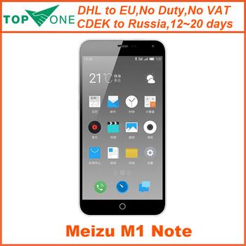 "Оригинал Meizu M1 примечание Meizu Noblue 4 г FDD LTE 5.5 "" MTK6752 Octa ядро 1920 x 1080 2 ГБ ROM 16 ГБ FDD 13.0MP камера мобильный телефон"