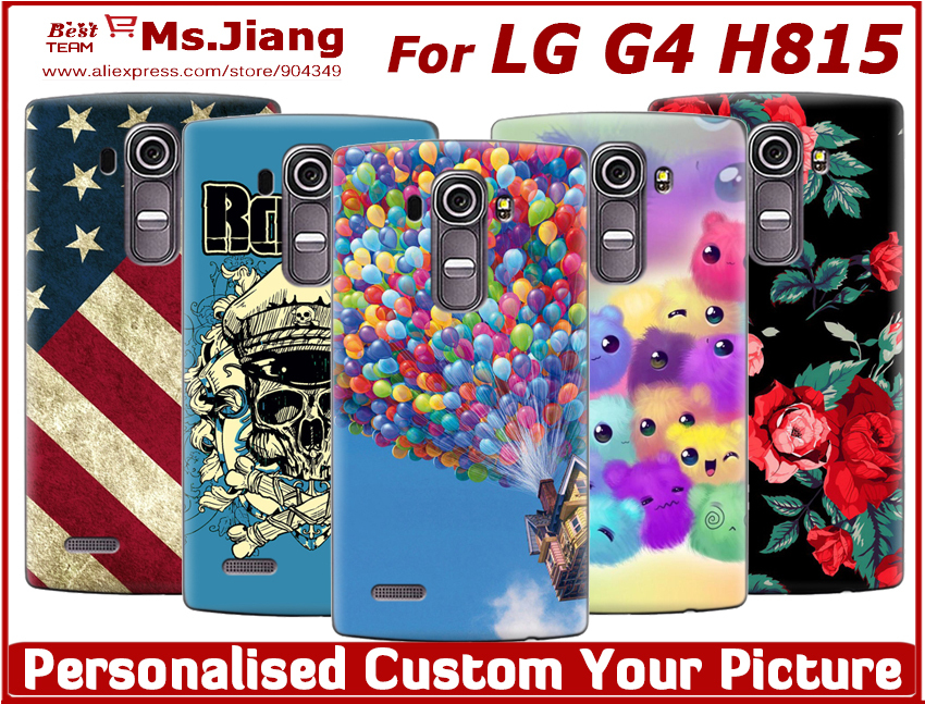Custom Made Customized Personalized Photo DIY Picture Hard Case Cover For LG G4 H815 H815 Phone Cases(China (Mainland))