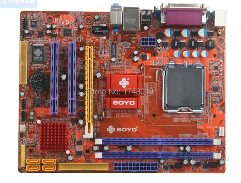 Free shipping 100% original motherboard for Soyo SY-I5G31-L LGA 775 DDR2  Fully Integrated G31 desktop motherboard