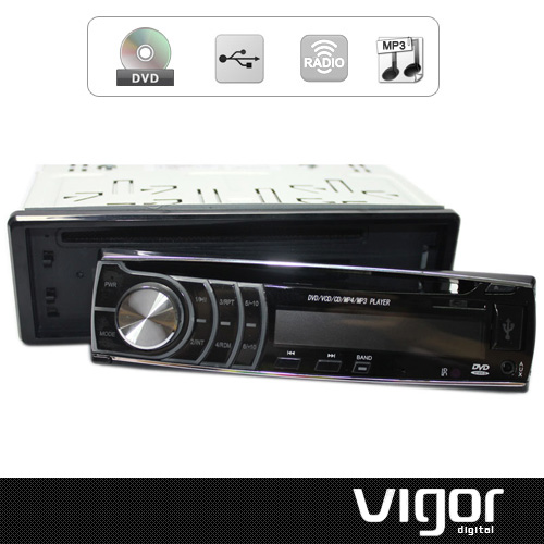 1 DIN IN DASH Car DVD/VCD/MP3/CD Player FM/AM Tuner Built-In USB Port/SD Card Slot Detachable Front Panel(China (Mainland))