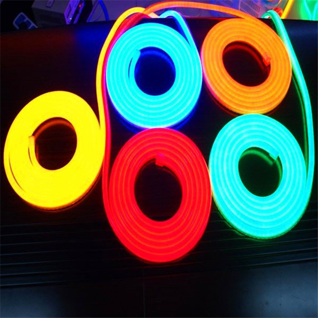 80LEDs/m 220v LED Flexible neon strip rope light with Red/Yellow/Blue/Green/White/Changleable/RGB 50m Length per Roll(China (Mainland))
