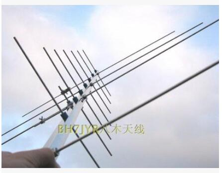 Handheld cross UV74 dual band satellite gps yagi antenna 430/144M HAM radio repeater dual band yagi antenna(China (Mainland))