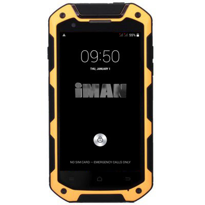 "iMan i5800C Android4.4 IP-67 Dustproof Smart Mobile Phone MTK6582 Quad Core 1.3GHz 1GB RAM 8GB ROM 4.5"" Screen Waterproof 3G GPS(China (Mainland))"