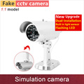 1 1 model Fake camera bullet simulation security cctv cameras dummy cam mock kamera with flash