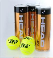 Free Shjpping 3 PCS/A Barrel 100% Brand New ATP Gold Canning Pack Master Tennis Ball(China (Mainland))