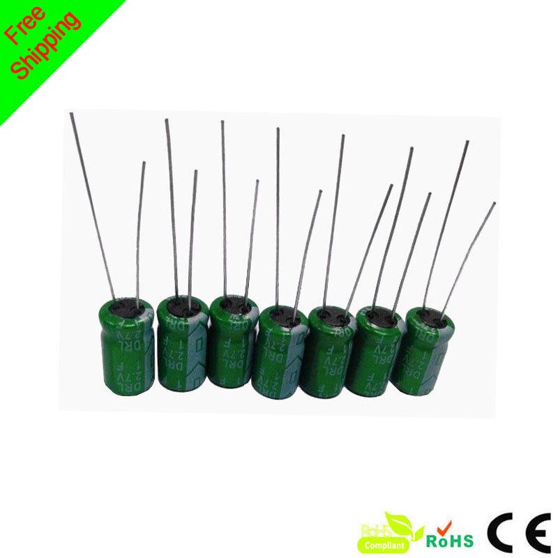 300 pic / lot super capacitor 2.7v1f ultra capacitor(China (Mainland))