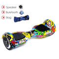 No tax 6 5inch smart electric scooter self balancing skateboard electric unicycle standing drift electric hoverboard
