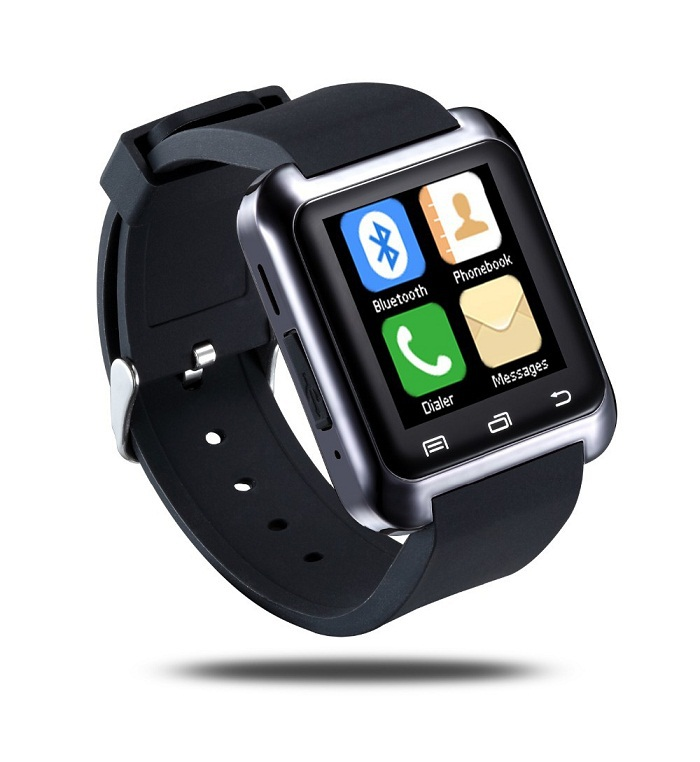 Bluetooth Smart U80 Watch BT-notification Anti-Lost MTK WristWatch iPhone 4/4S/5/5S Samsung S4/Note 2/Note 3 Android Phone - AUPU Source Technology Co., Ltd. store