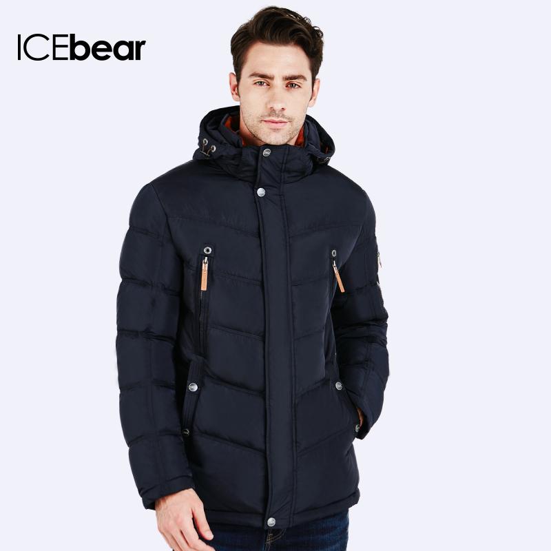 ICEbear 2016 Winter Jacket Men Fashion Design Brand Parka Men Clothing Zipper Coat Male With Pockets 16MD930(China (Mainland))