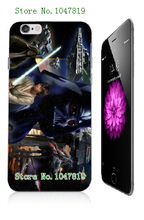 Mobile Phone Case Retail 1pc star wars movie design Protective White Hard Case For Iphone 6 plus Free Shipping