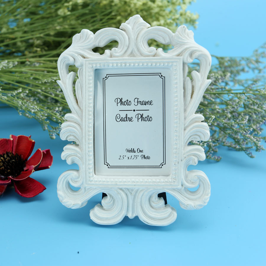 (white,black) Baroque photo picture frame Wedding Place Card Holder Engagement Favors Gift Party Accessory Decoration Supplies(China (Mainland))