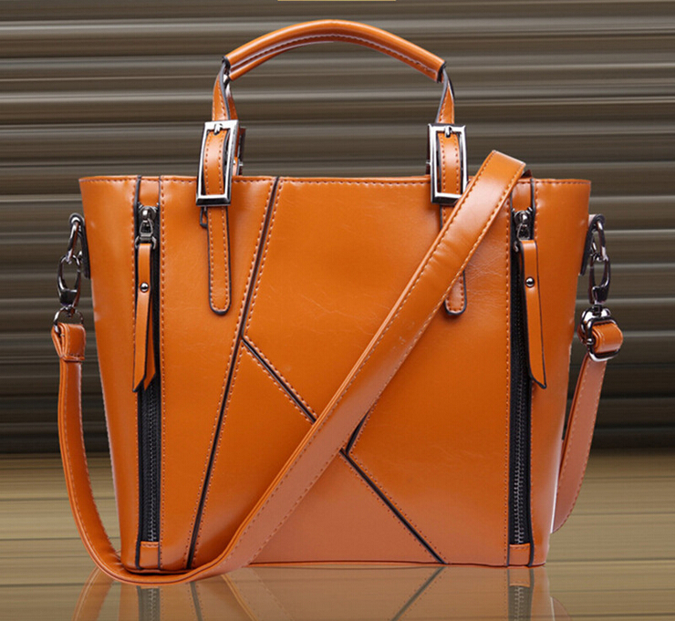 Luxurious Patchwork Handbags 2015 women leather Splice brand new Top-Handle Bags designer Fashion Cowhide messenger bags Ms. bag<br><br>Aliexpress