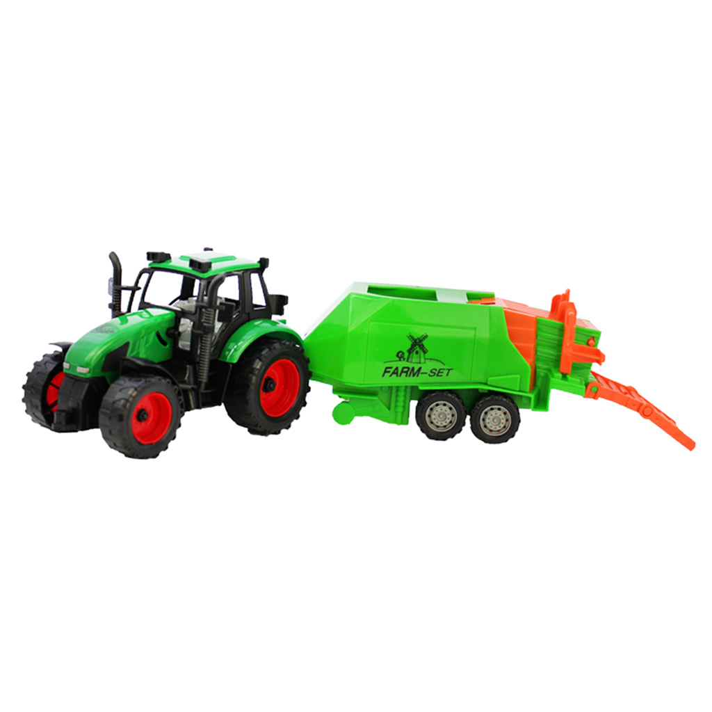 1:30 Kid Diecast Model Farm Tractor Truck Toy Gift-Green Children's Educational Intelligence Development Christmas Birthday Gift(China (Mainland))