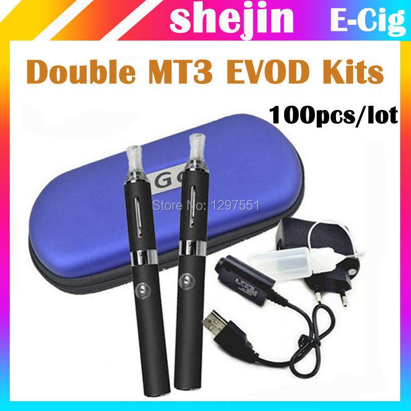 100pcs/lot EVOD MT3 EVOD MT3 MT3 EVOD E MT3 EVOD usb 3 1 e magic 3in1 evod starter kit