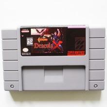 Castlevania Dracula X 16 Bit Gioco di Carte Per USA NTSC Giocatore del Gioco(China (Mainland))