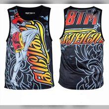 رجل Mma Rashguard أكمام Bjj قميص جيو جيتسو سترة الملاكمة التايلاندية Camisa Boks Giyimi رياضة البلوز Masculino الووشو ساندا قميص(China)