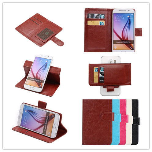 New Design Fashion 360 Rotation Ultra Thin Flip PU Leather Phone Cases For ORRO F8(China (Mainland))