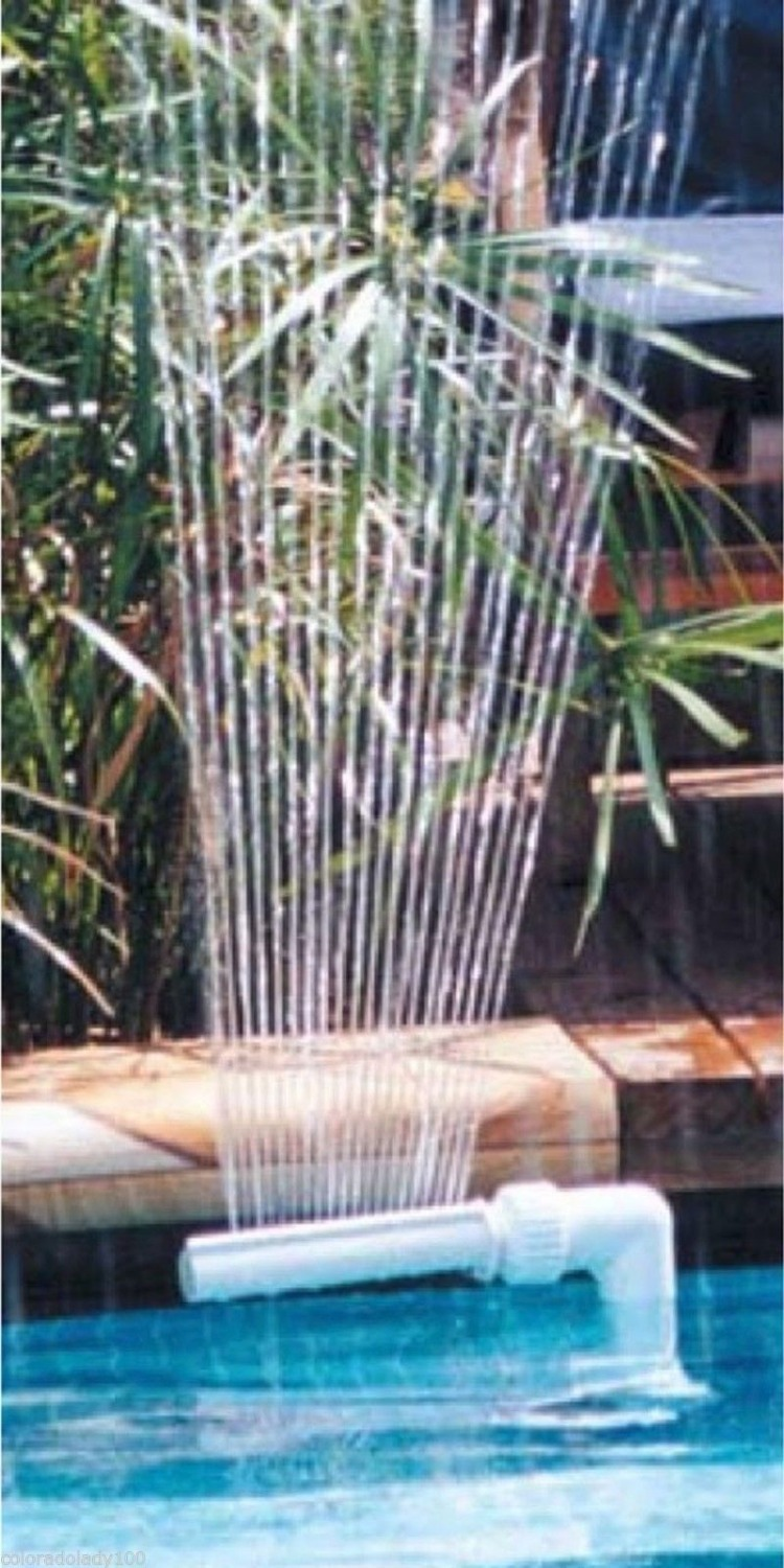 Pool Waterfall Fountain for Above Ground and In Ground Swimming Pools(China (Mainland))