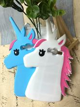 3D Horse Unicorn Soft Silicon Phone Case Cover Samsung Galaxy Grand Prime G530 Duos i9082 i9060 S S7562 J1 Ace J5 J7 - Fashion Accessories Co. Ltd store