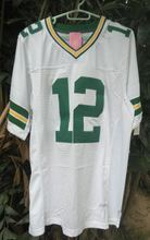 Canuven Green White #12 Aaron Rodgers CHEAP JERSEY 100% STITCHED FOOTBALL JERSEYS(China (Mainland))