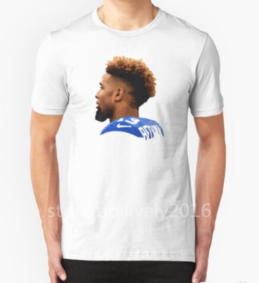 New Summer 2016 Odell Beckham Jr. American rugby T Shirt Men Clothing Short Sleeve Printed Custom T-shirt DIY Design Tee Shirts(China (Mainland))