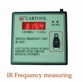 Free Shipping Original A+ Quality Wireless IR Remote Control Transmitter Frequency Meter Counter Wavemeter Tester 250MHz-1GHz <br><br>Aliexpress