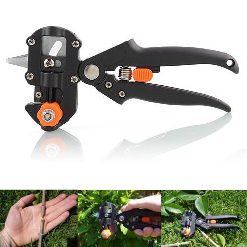 New Garden Fruit Tree Pro Pruning Shears Scissor Grafting cutting Tool + 2 Blade Free Shipping(China (Mainland))