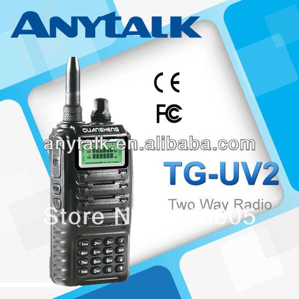 Quansheng TG-UV2 high quality 2 band portable radio(China (Mainland))