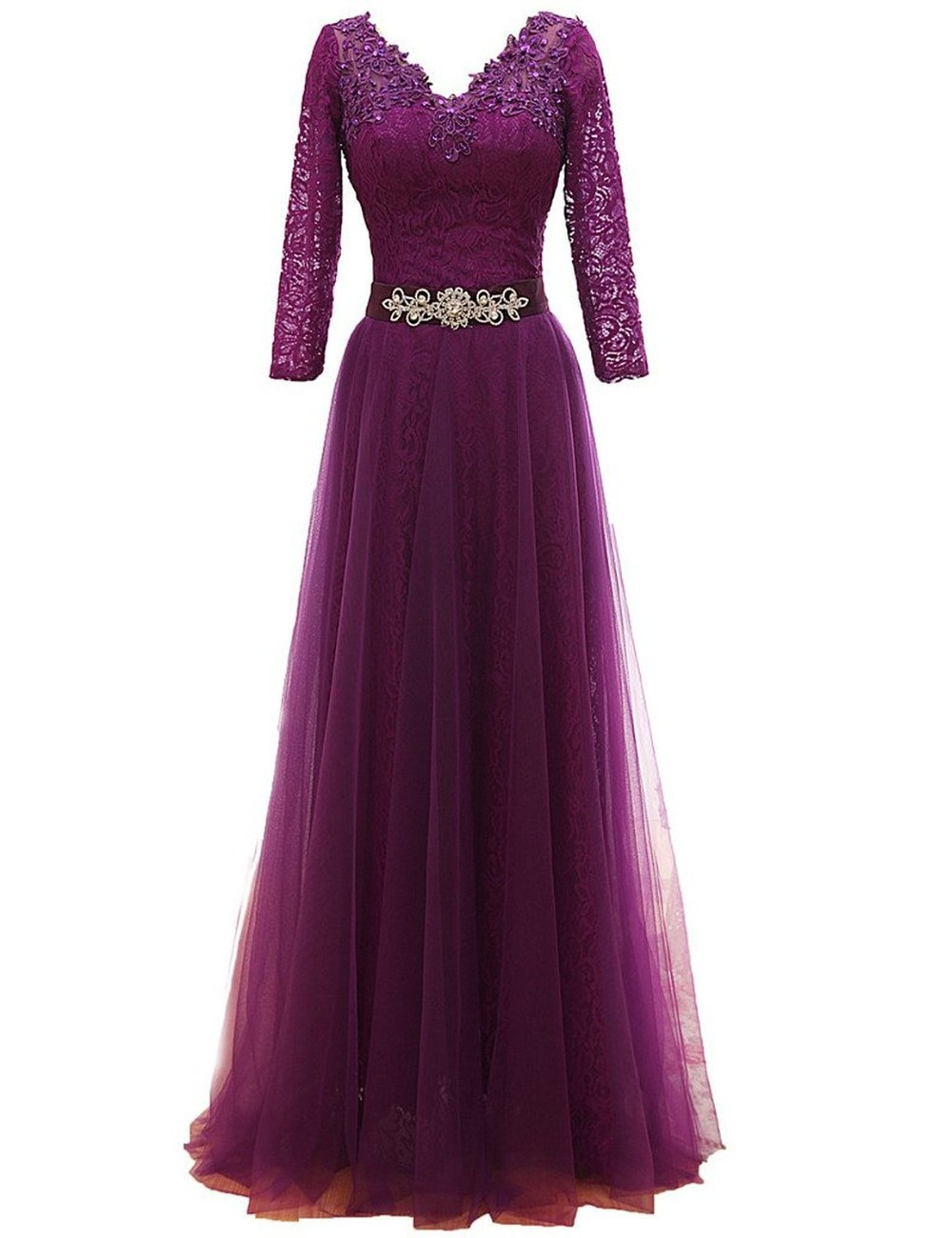 2016 New Arrival Purple Evening Dress Mother Of The Bride