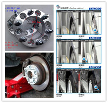 A pair  (2 pieces), 6 x139.7 hole 108 mm, wheel adapter, spacers, suitable for TOYOTA Land Cruiser 80 series, prado, hummer H3,(China (Mainland))