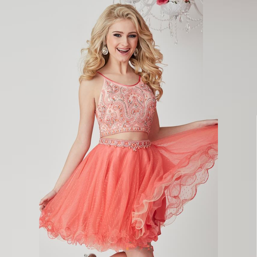 High Quality Wholesale coral homecoming dresses from China coral ...