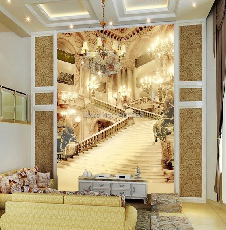 Online Shop High Quality Modern Luxury Wallpaper 3D Wall Mural Papel De  Parede Photo Wall Paper European Palace|Aliexpress Mobile Part 41