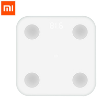 Buy New Xiaomi Mi Smart Body Fat Scale Mifit APP & Body Composition Monitor Hidden LED Display Big Feet Pad Weighing Scale for $59.50 in AliExpress store