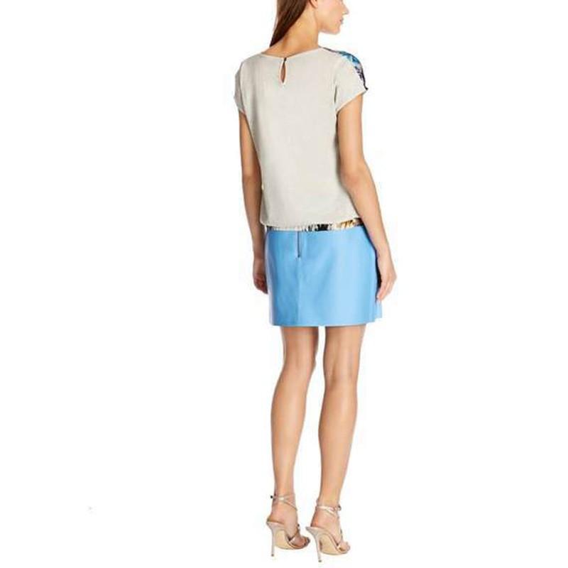 женщины блузку и короткие для женщин напечатаны топы моды одежды из шифона рубашку топы для женщин