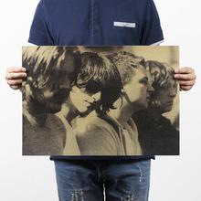 Arctic Monkey / Rock Poster / Kraft Paper Bar Decorative Painting 51x35.5cm /150g  Retro Paper/ High Quality(China (Mainland))