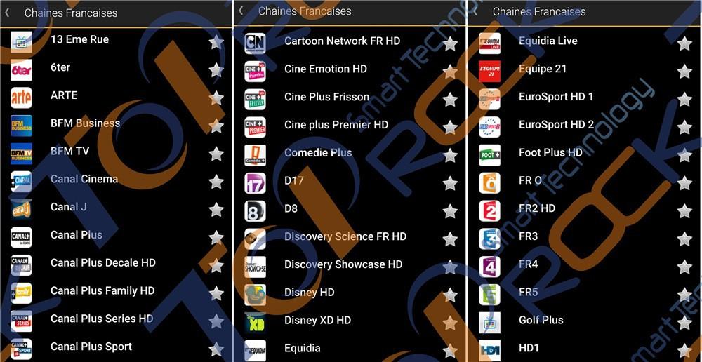 Quad Core Arabic French Iptv Box Android Arabic Iptv Set