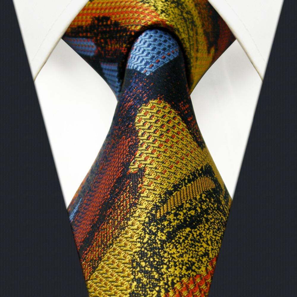 pattern multicolor mens tie neckties 100 silk handmade
