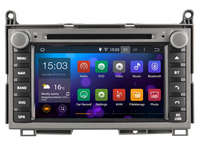 Android 4.4  Car DVD player Radio Stereo GPS  for  Toyota Venza  2008 - 2012 /   3G WIFI OBD DVR / 1024*600 HD screen
