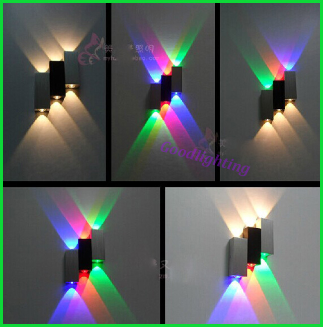 Free shipping 2014 New Up and down led wall light Aluminum epsitar led indoor lighting decoration art style creative light<br><br>Aliexpress