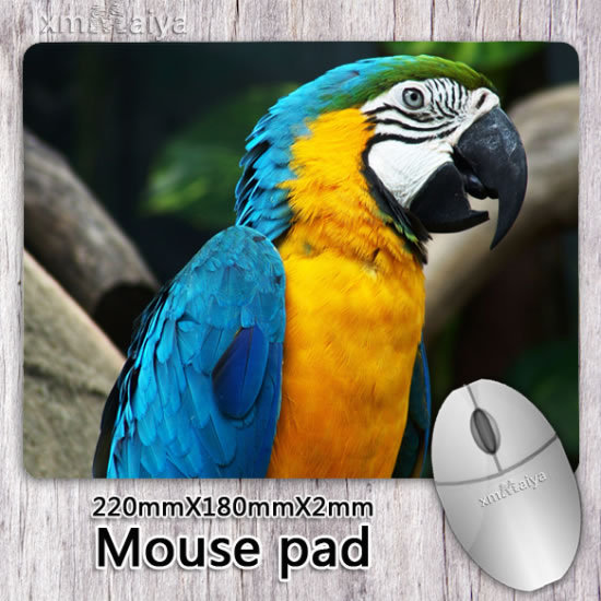 Gaming Mouse Pad Rubber Thicken Wide Cute Animal Bird Mouse Pad Soft Mouse Mat For Computer 2201802mm(China (Mainland))