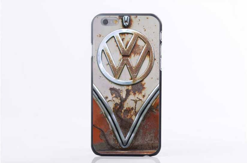Latest Listing of Volkswagen Logo Back Shell Case Cover for iPhone 4 4s 5 5s 5c 6 6s 6 Plus 6s Plus 7 7Plus Cases