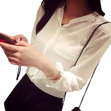 summer style blusas chiffon blouse women tops shirt woman clothes camisa feminina ropa mujer vetement femme chemise plus size XL