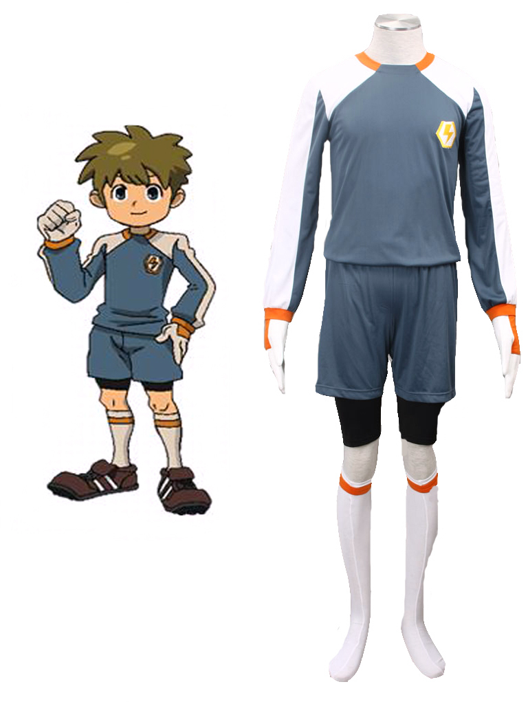 Inazuma Eleven Yuki Tachimukai Raimon soccer team Goalkeeper Uniform Anime Cosplay Costume(China (Mainland))