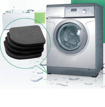 High Quality Washing machine shock pads Non-slip mats Refrigerator Anti-vibration pad 4pcs/set Quality(China (Mainland))