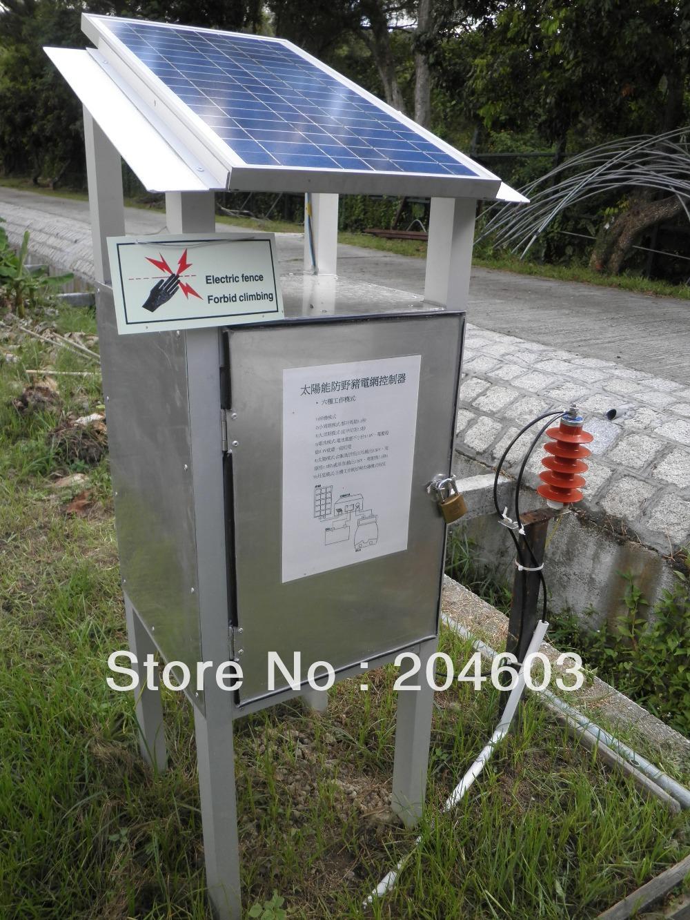 Portable 1 joule animaux solaire puissance électrique escrime électrificateur pour élevage(China (Mainland))