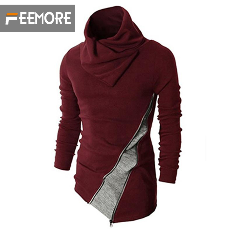 New Jacket Collision Color Men 's Sweater Hedging Slim Pull Homme Cotton Maglione Uomo Men Clothing Men turtleneck freeshipping(China (Mainland))
