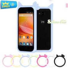 ZTE Blade L2/ZTE X7/ZTE D6 V6/ZTE L370 Universal Silicone Bumper case Protector Big Size - Shop323360 Store store