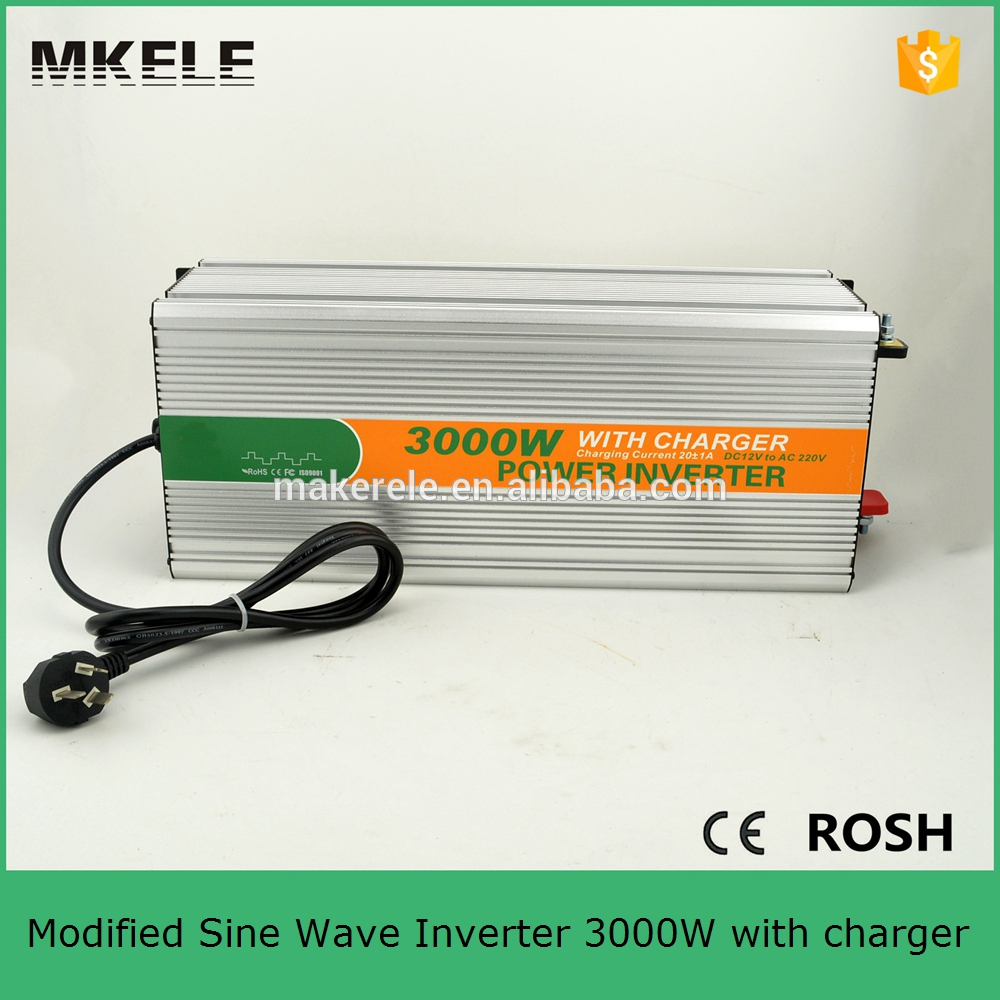MKM3000-121G-C modified sine power inverter 3000 watt inverter ac 120v dc12v converter inverter for home use with charger<br><br>Aliexpress
