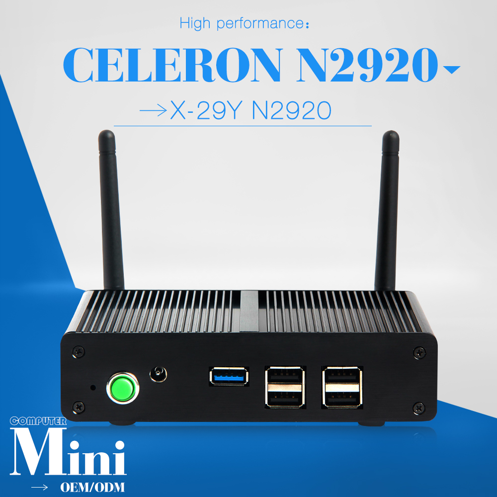 Low power low heat ncomputing thin client station celeron N2920 computer latest computer models cheap desktop computer(China (Mainland))