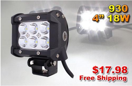Система освещения 2 4 18W 4 X 4 ATV 4WD UTV